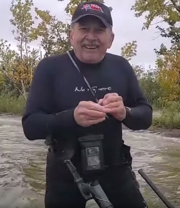 metal detecting in freshwater lakes can produce some Gold rings